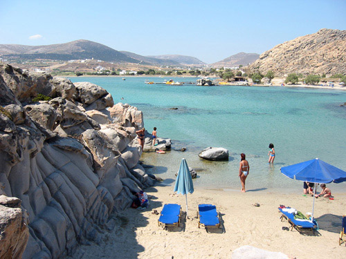 Close to famous Kolymbithres, Paros Hotel Christina
